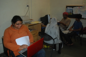 Rachna Dhingra at her office.