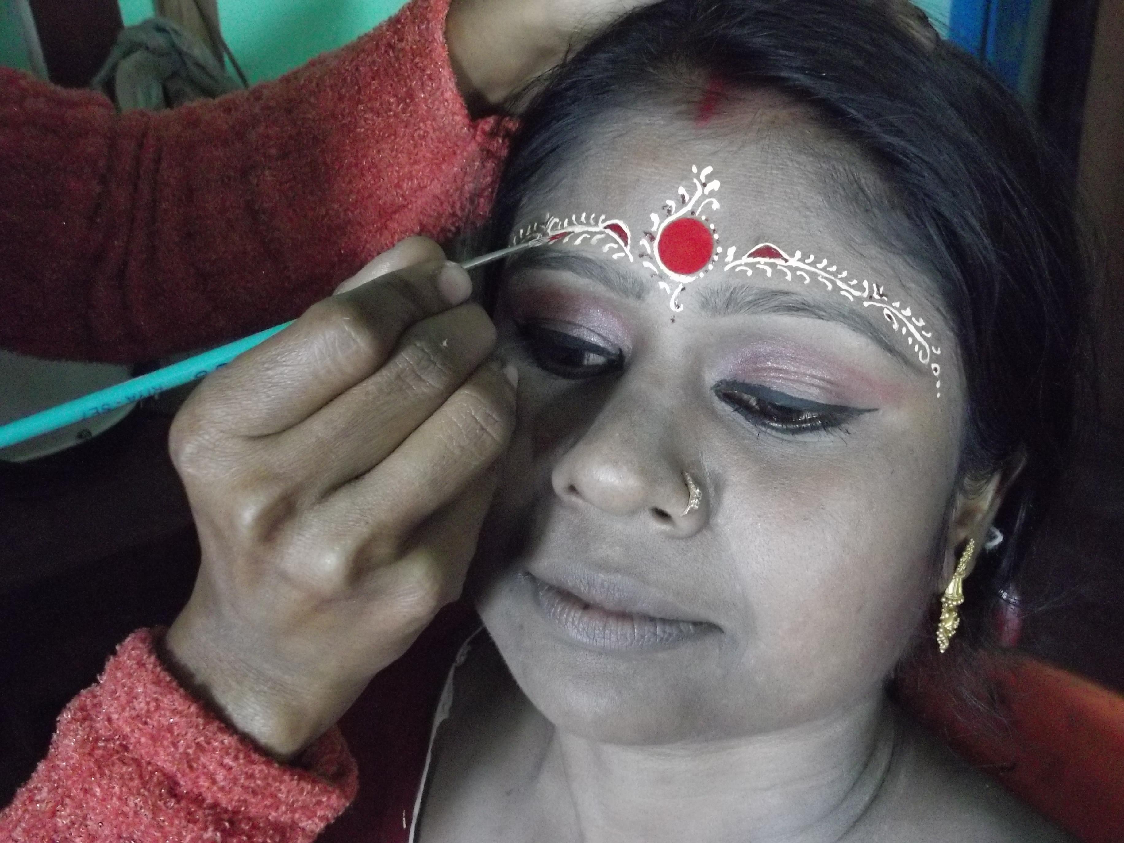 Free Wedding Make Up Bengali Bride Makeup Ideas For 9 Artist Siliguri Bridal Hairstyling